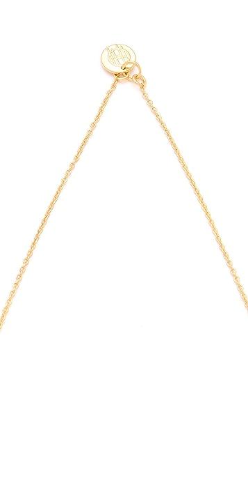 House of Harlow 1960 Double Sunburst Pendant Necklace