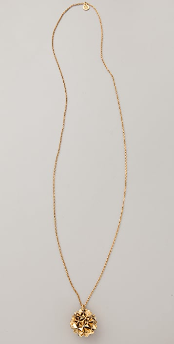 House of Harlow 1960 Crater Locket Necklace