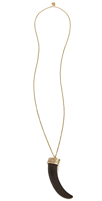 House of Harlow 1960 Tribal Horn Pendant Necklace