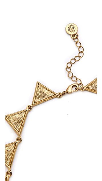 House of Harlow 1960 Triangle Collar Necklace