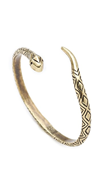 House of Harlow 1960 Snake Cuff