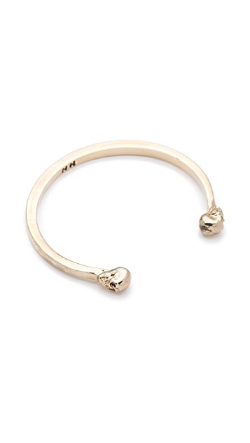 House of Harlow 1960 Skull End Cuff