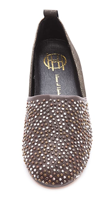 House of Harlow 1960 Stud Kye Flats