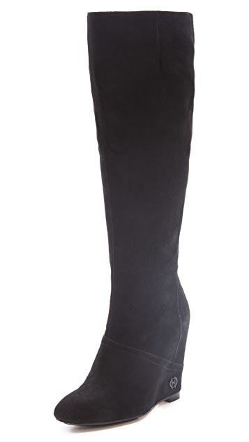 House of Harlow 1960 Simona Wedge Boots