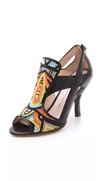 House of Harlow 1960 Maddge Beaded Sandals