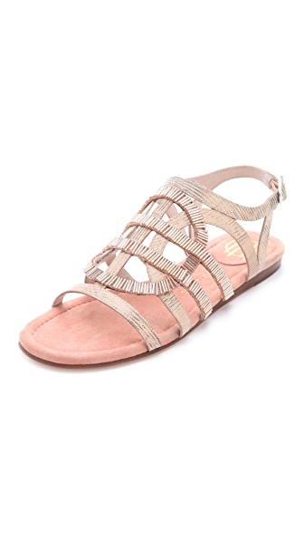 House of Harlow 1960 Aggie Beaded Sandals