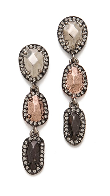 House of Harlow 1960 Rif Pebble Drop Earrings