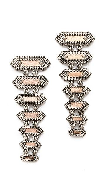 House of Harlow 1960 Gypsy Rope Earrings