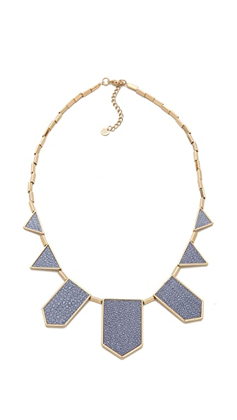 House of Harlow 1960 Blue Star Station Necklace
