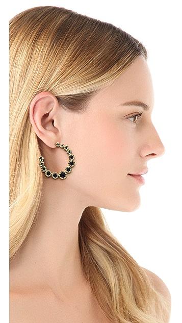 House of Harlow 1960 Olbers Paradox Hoop Earrings