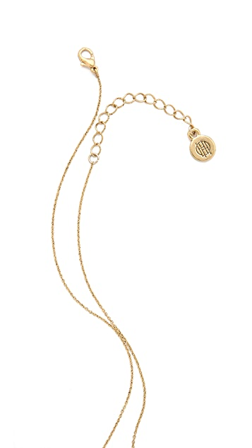 House of Harlow 1960 Heart Scarab Necklace