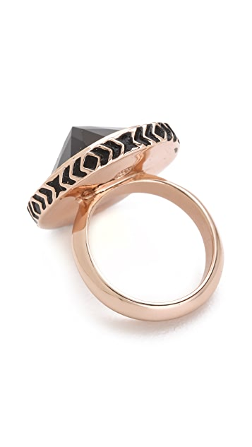 House of Harlow 1960 Scry Stone Ring