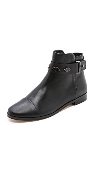 House of Harlow 1960 Ben Cap Toe Booties
