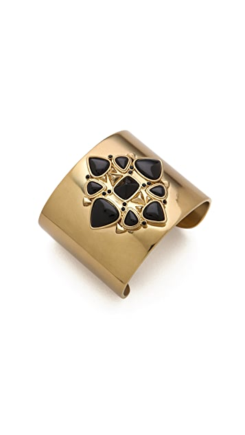 House of Harlow 1960 Kaleidoscope Fingerpick Cuff