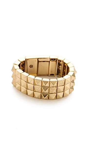 House of Harlow 1960 Pyramid Bracelet