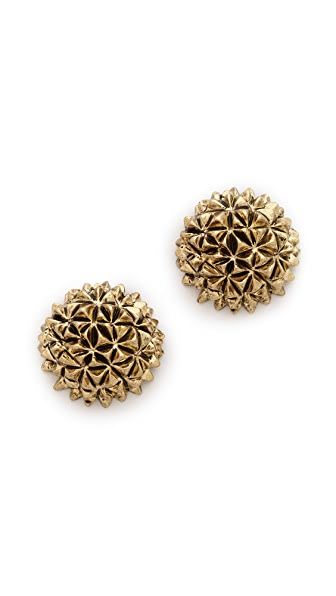 House of Harlow 1960 Mini Crater Stud Earrings