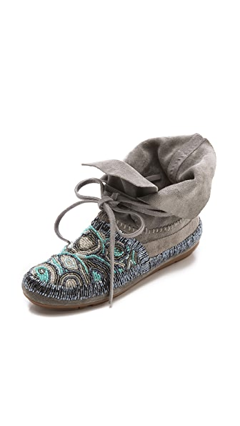 House of Harlow 1960 Mallory Moccasin Booties