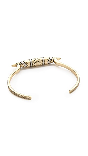 House of Harlow 1960 Tribal Totem Cuff Bracelet