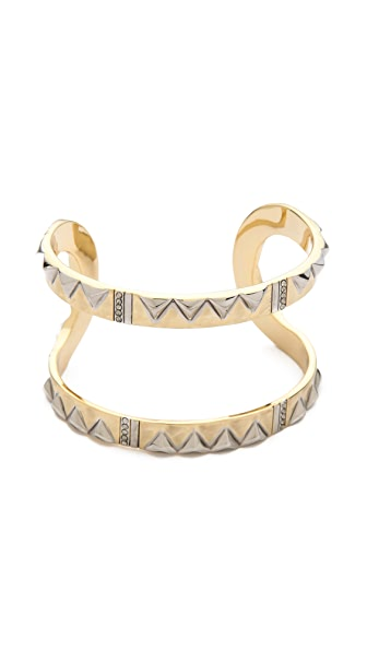 House of Harlow 1960 Cusco Crescent Cuff Bracelet