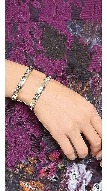 House of Harlow 1960 Cusco Crescent Cuff Bracelet