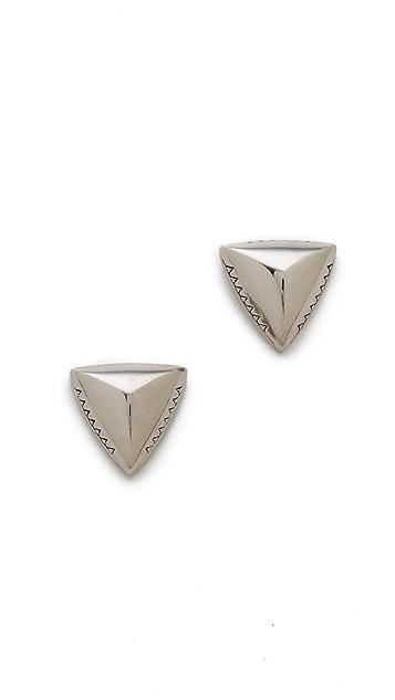 House of Harlow 1960 Pyramid Stud Earrings