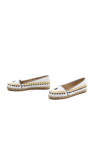 House of Harlow 1960 Kole Embroidered Espadrilles