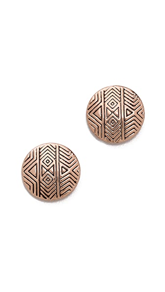 House of Harlow 1960 Tholos Mosaic Stud Earrings
