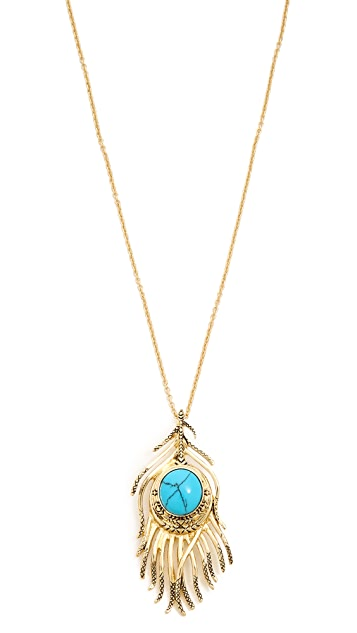House of Harlow 1960 Eye of Wisdom Pendant Necklace