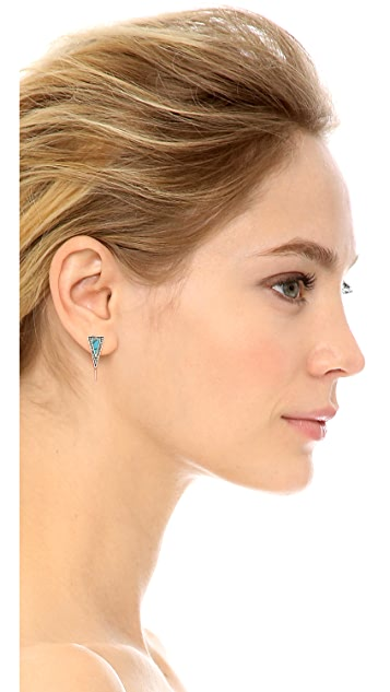 House of Harlow 1960 Acute Earrings