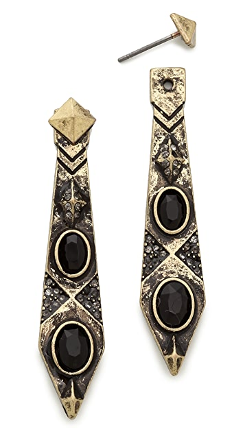 House of Harlow 1960 Gypsy Feather Earrings