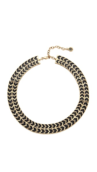 House of Harlow 1960 Blackbird Collar Necklace