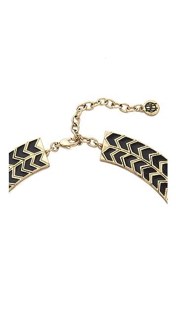 House of Harlow 1960 Blackbird Collar Necklace