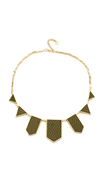 House of Harlow 1960 Five Station Necklace