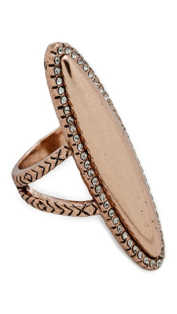 House of Harlow 1960 Geodesic Cocktail Ring