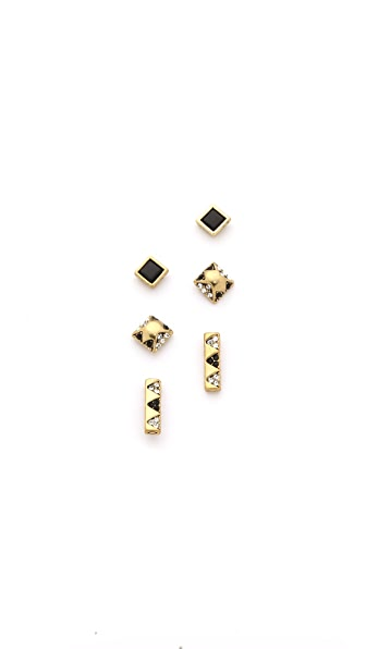 House of Harlow 1960 Plateau Earring Set