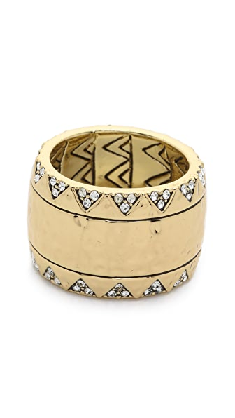 House of Harlow 1960 Safari Band Ring