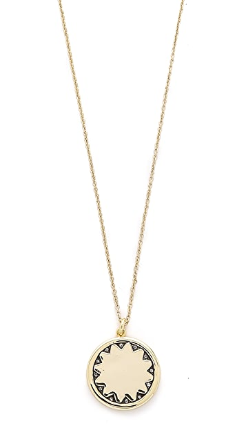 House of Harlow 1960 Sun Coin Pendant Necklace