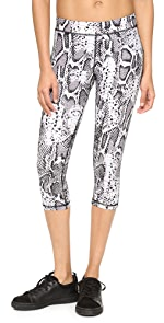 Snake Capri Leggings                hpe