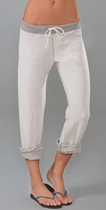 MONROW Inside Out Cuffed Sweatpants