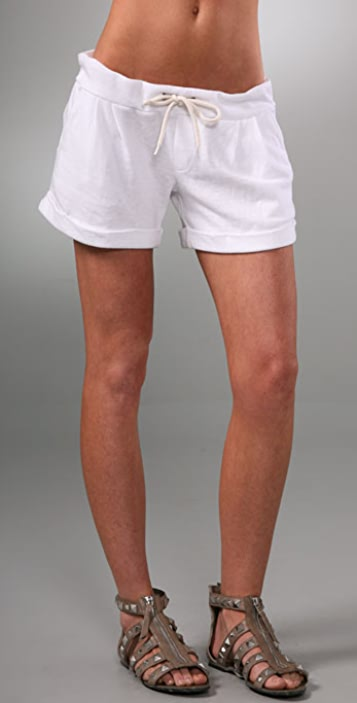 MONROW Cuffed Shorts