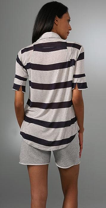 MONROW Bold Stripe Shirt