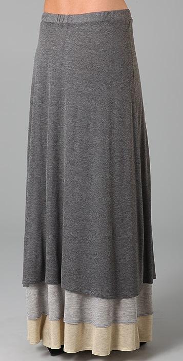 MONROW Layered Long Skirt