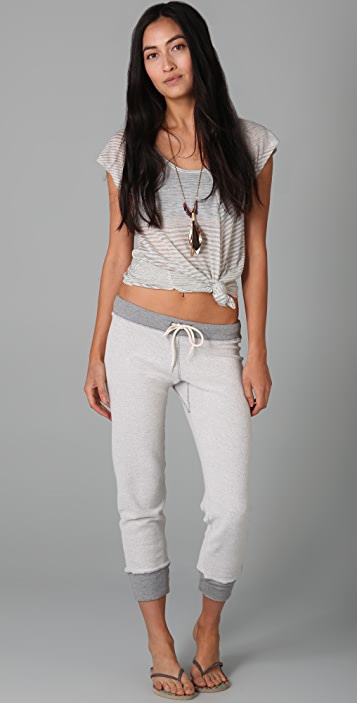 MONROW Inside Out Skinny Sweats