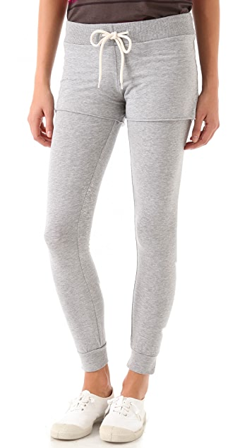 MONROW Layered Leggings with Shorts