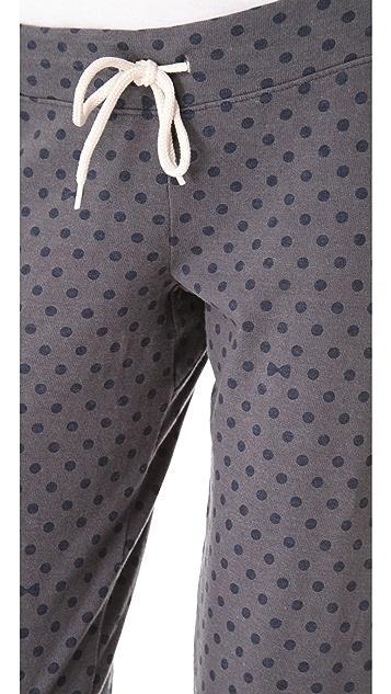 MONROW Polka Dot Vintage Sweats