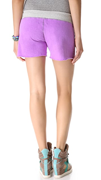 MONROW Colorblock Vintage Shorts
