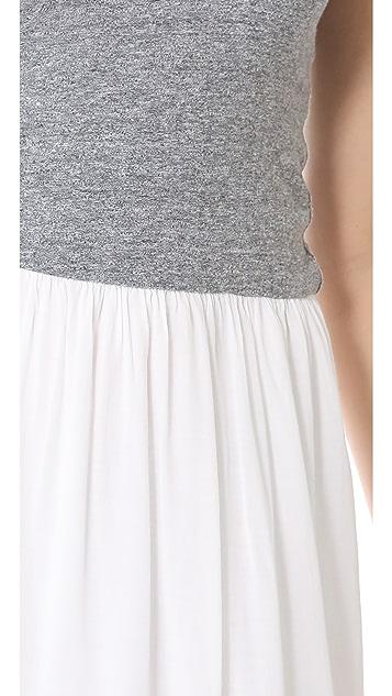 MONROW Knit & Woven Dress