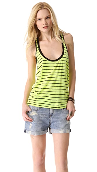 MONROW Striped Tank