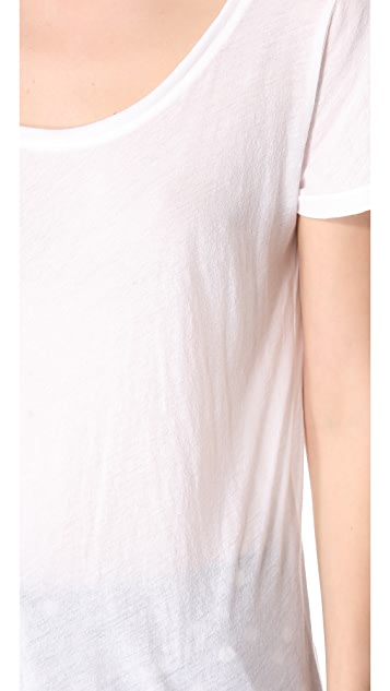 MONROW Novelty V Back Tee