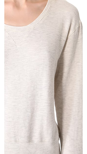 MONROW Super Soft Crew Neck Sweatshirt